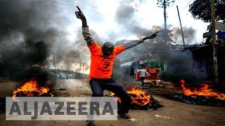 Kenya's election re-run marred by unrest and protests