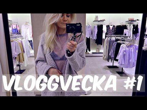VLOGGVECKA #1 ☆ TÄBY C & SKOLA