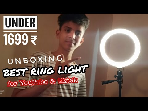 SHYLOC 18 Inches Ring Light Unboxing & Review | Best Budget Ringlight