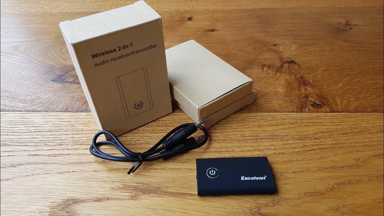 excelvan b9 2 in 1 bluetooth wireless receiver transmitter. Black Bedroom Furniture Sets. Home Design Ideas