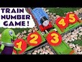 Numbers Prank with Funny Funlings and Thomas and Friends Toy Trains