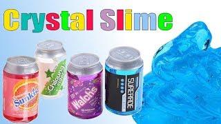 Slime z puszki • Fanta & Powerade • krystaliczne gluty