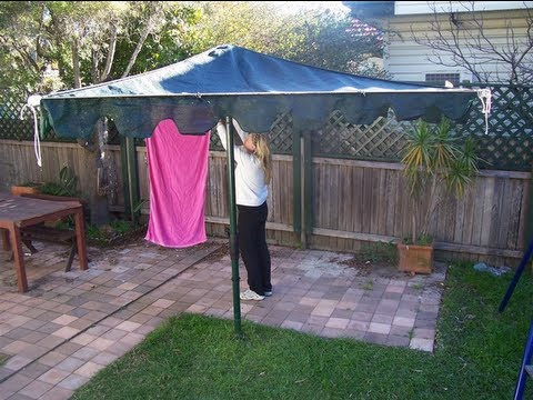 Aussie Shade Clothesline Cover Clothes Line Covers