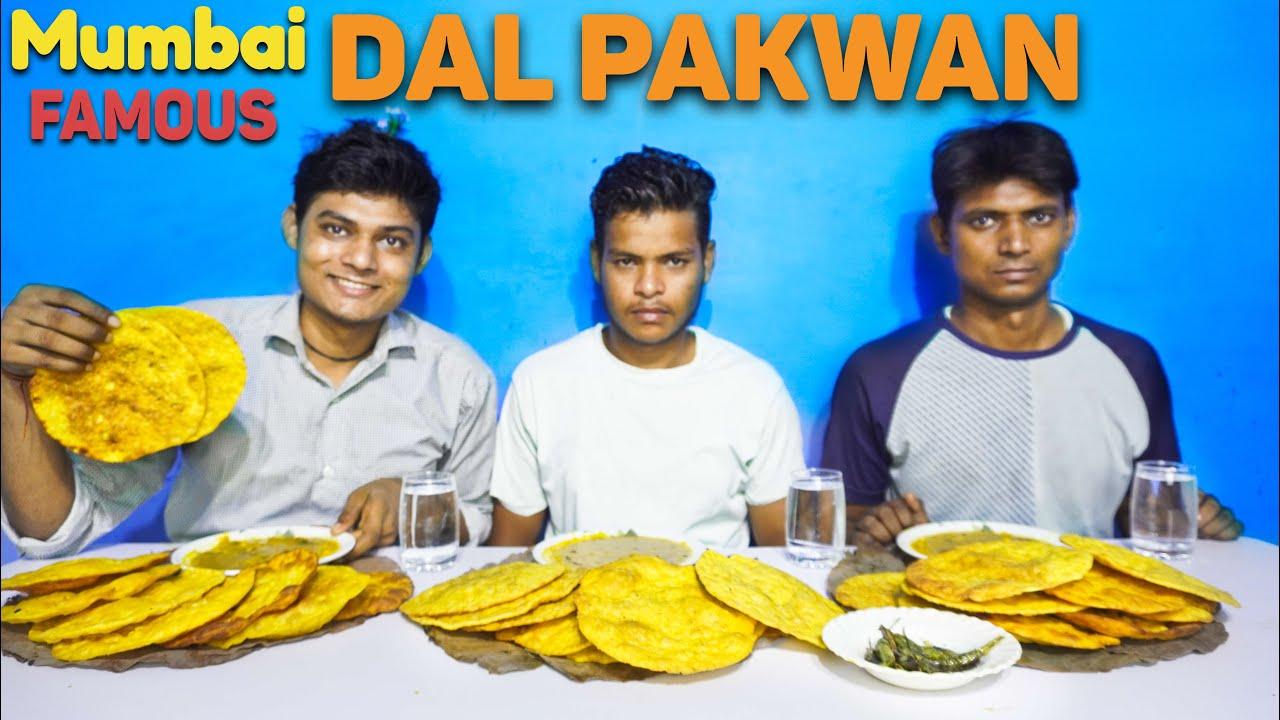 Mumbai Street Famous Dal Pakwan Eating Challenge | Dal Pakwan  Competition | Street Food Challenge