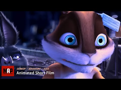 "CGI 3D Animated Short Film ""LAB"" Cute & Funny Animation Cartoon for Kids by ESMA"