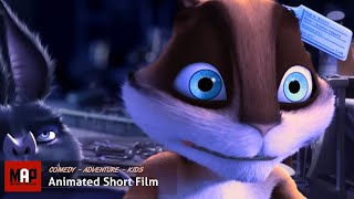 Cute & Funny CGI 3D Animated Short Film ** LAB ** Adventure Video for Kids Cartoon by ESMA