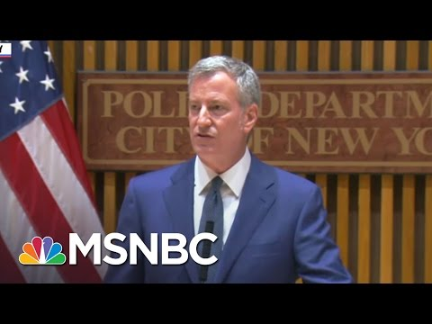 NYC Officials Blast Donald Trump's DOJ For Calling City 'Soft On Crime' | The 11th Hour | MSNBC