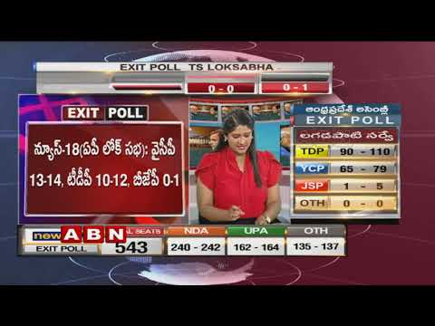 Discussion on Exit Poll Results | Lok Sabha Elections 2019 | BJP | Congress | Part 1 | ABN Telugu