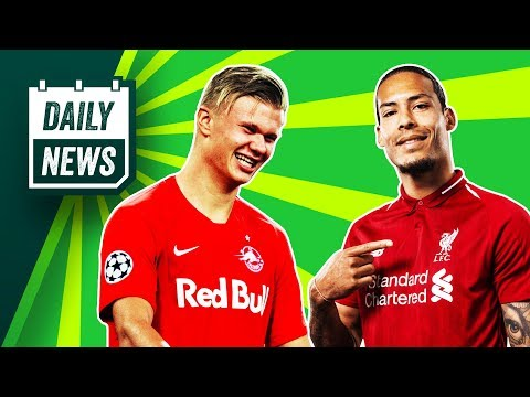 Napoli 2-0 Liverpool VAR Controversy + Who Is Erling Haaland? ► Daily News