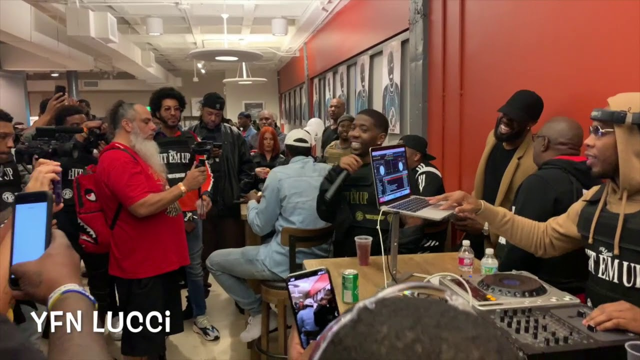 YFN Lucci Hosts Wish Me Well 3 Private Listening Party At ...