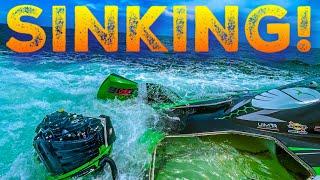SINKING MAYDAY BOATING EMERGENGY | MIAMI BEACH 4K