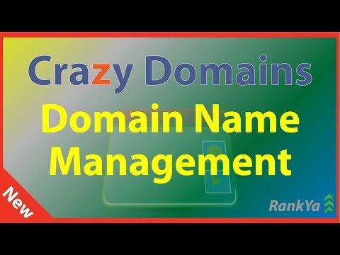 Crazy Domains Domain Name Management