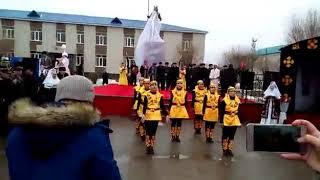 Очень красивый казахский танец! Наурыз г.Эмба