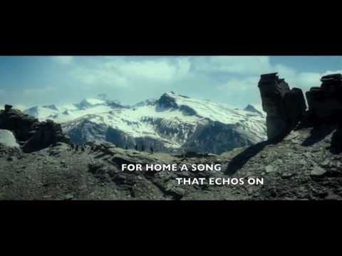 Song of The Lonely Mountain - Neil Finn Lyric Video (Fan-Made)