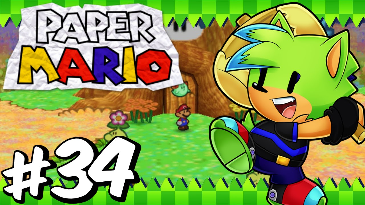 Paper Mario 64 Blind Part 34 Welcome To Flower Fields Youtube