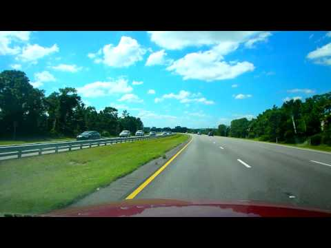 Скоростные трассы США - Florida Toll SR 528  &  I-4 БОЛТАЛКА  09.10.2014