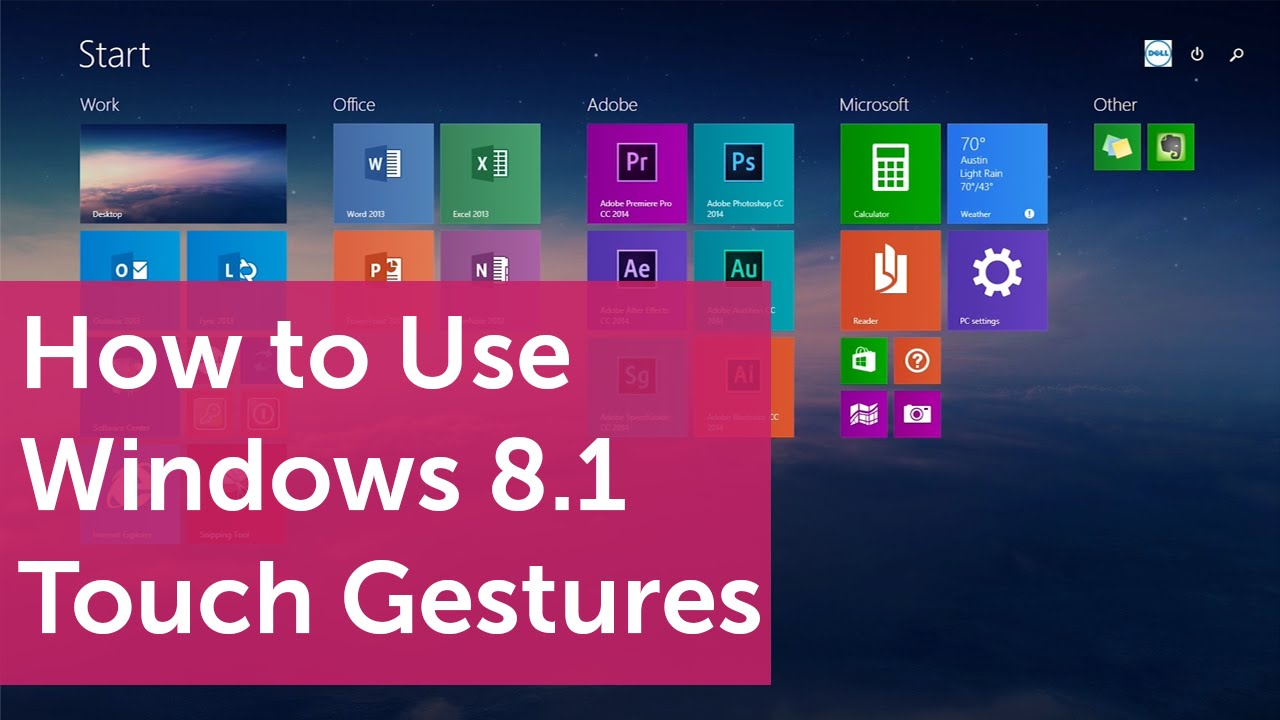how to add gestures to a video