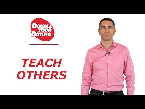 To Get Success With Women And Dating - Teach Others
