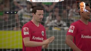 Borussia M'Gladbach : Eintracht Frankfurt |LIVESTREAM| DFB Pokal Halbfinale 25.04.2017 FIFA 17
