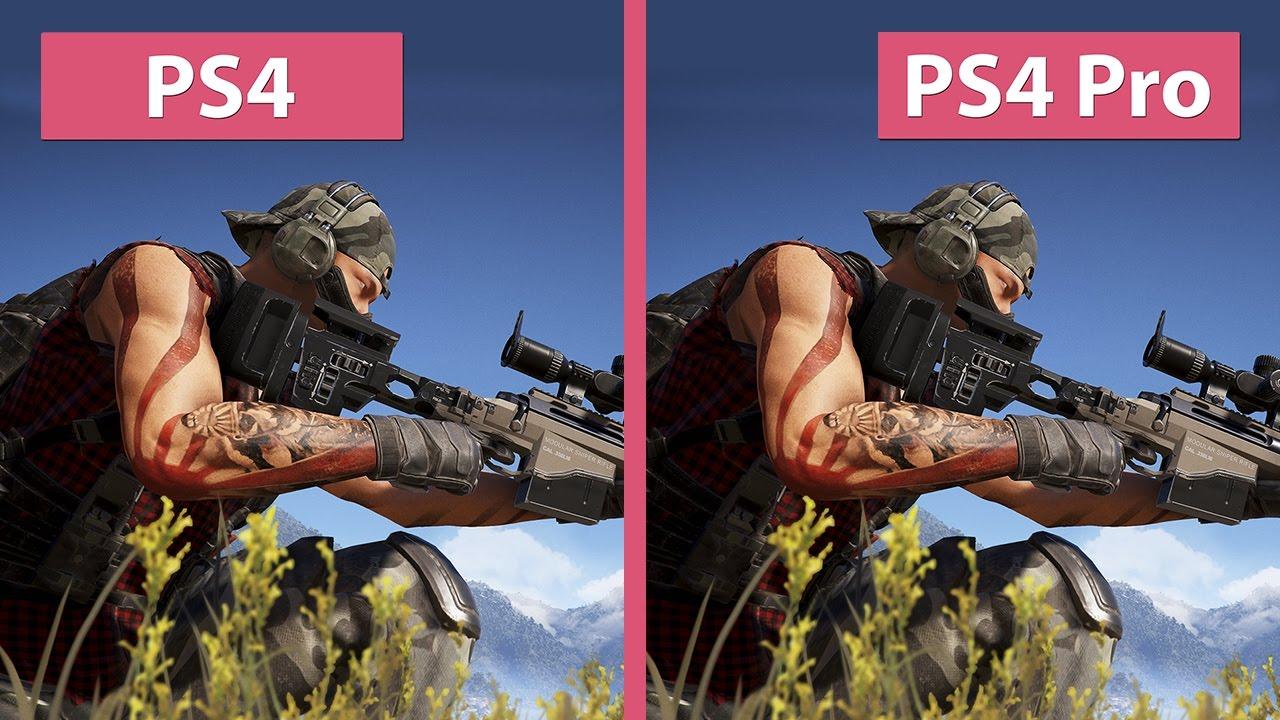 Ghost Recon Wildlands – PS4 vs. PS4 Pro 4K Mode Graphics Comparison