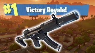 🔵 NEW SILENCED SMG !! - FORTNITE Battle Royale Gameplay Live thumbnail