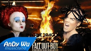P Nk Just Like Fire Warriors Light Em Up Ft Fall Out Boy Imagine Dragons