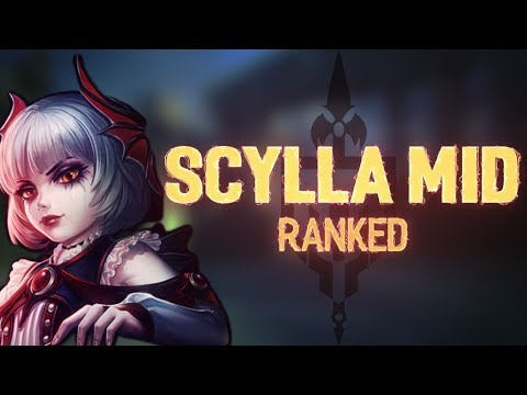 Scylla Mid Ranked: PUTTING ON MY CARRY DRESS - Incon - Smite