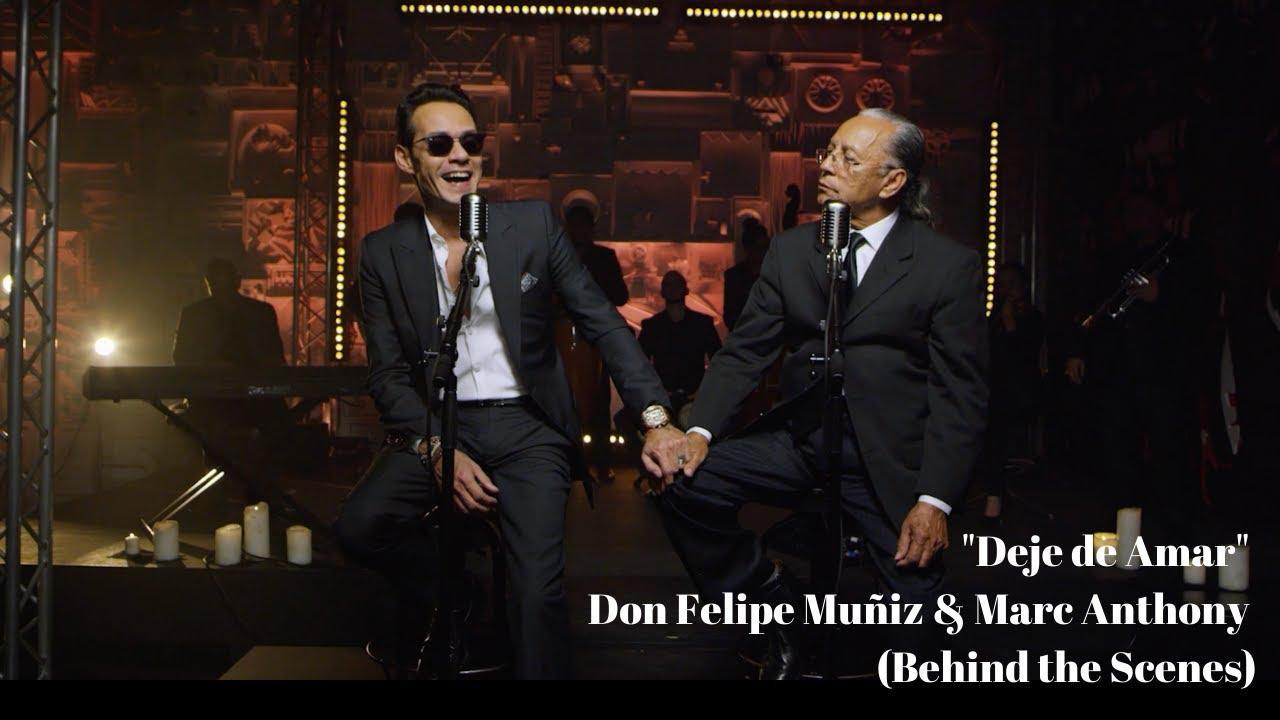 """Deje de Amar"" Don Felipe Muñiz & Marc Anthony (Behind the Scenes)"
