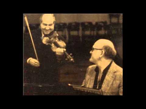 Shostakovich - Violin sonata - Oistrakh / Richter
