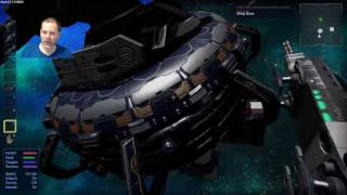 Empyrion Mining Asteroids with CV Drill