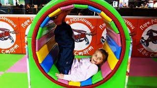 Веселая детская площадка и развлечения для детей Funny Outdoor Playground and entertainment for kids