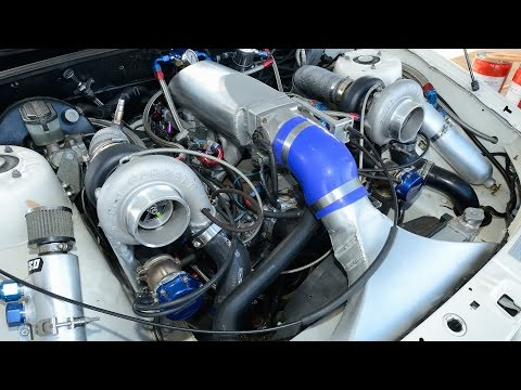 Twin turbo V6 Ecotec - TERAFI - YouTube
