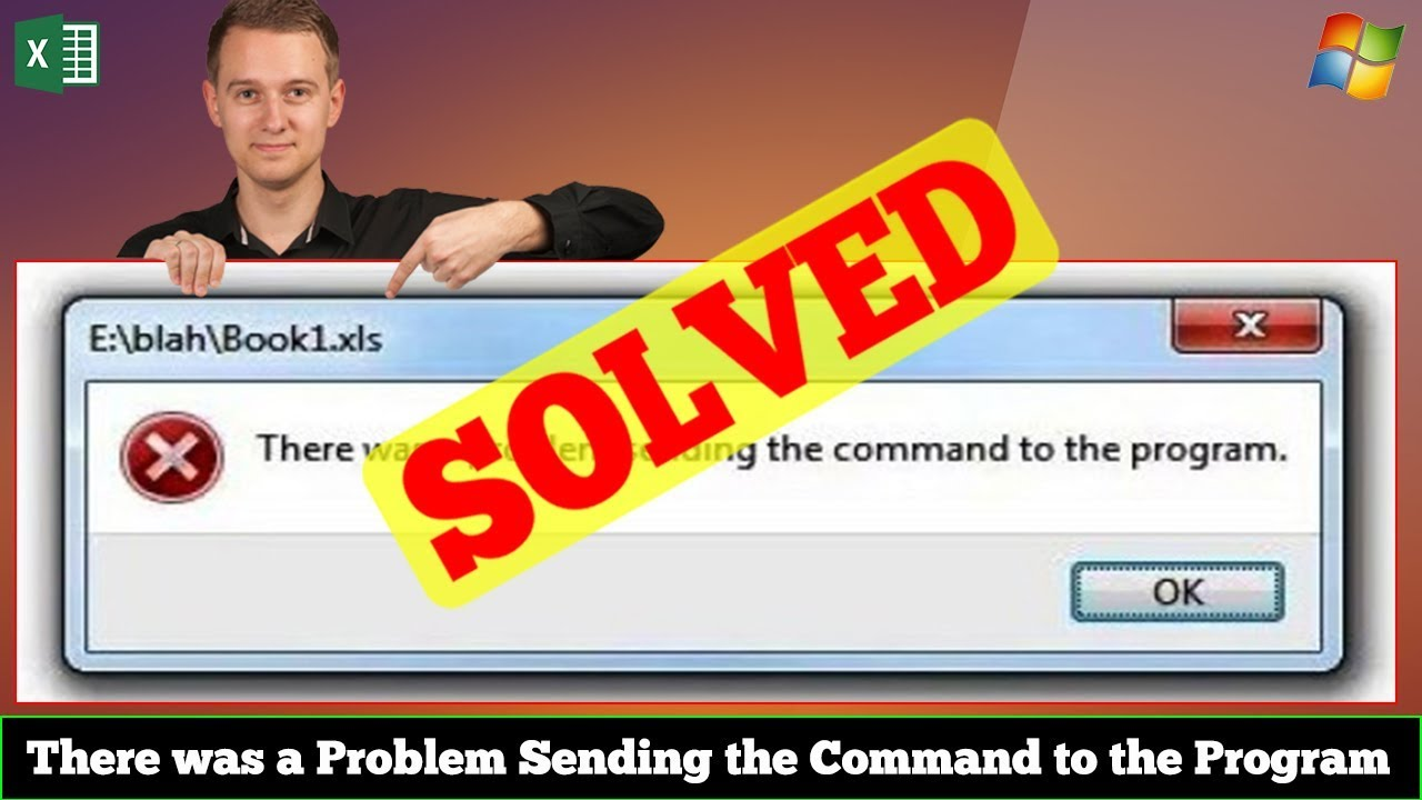 [FIXED] There was a Problem Sending the Command to the Program