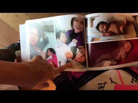 Flor sfoglia l'album nascita di Tiarin (come organizzarlo TOP)