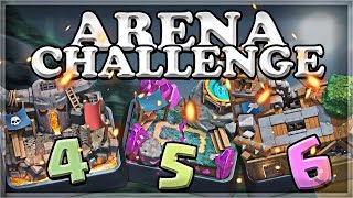 Arena Challenge 4-5-6 | Clash Royale | Part 2 ????