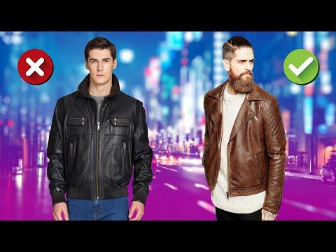 Как выбрать кожаную куртку? Мужские куртки из кожи.