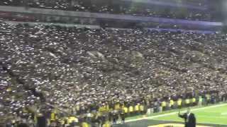 Cell Phone Light Show Iowa vs Minnesota 11/14/15