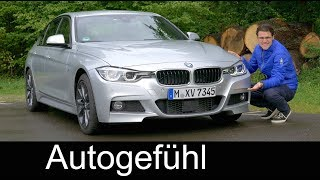 BMW 3 Series 330i M Sport FULL REVIEW 3er BMW test 2017/2018 - Autogefühl