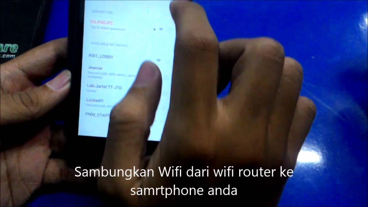 Tutorial menggunakan Wifi Mouse