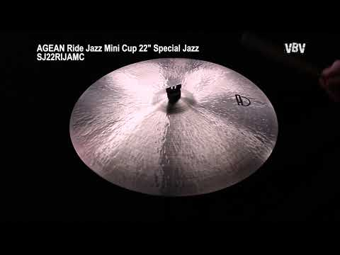 "22"" Ride Jazz Mini Cup Special Jazz video"