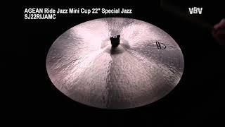 "22"" Ride Jazz Mini Cup Special Jazz video"