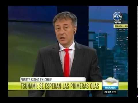 FUERTE SISMO DE 8,4° SACUDIO CHILE (16 DE SEPTIEMBRE)