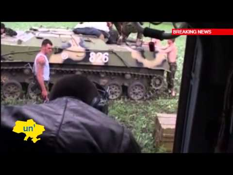 Dramatic Ukrainian Military Footage: Soldiers transport prisoners and supplies in East Ukraine