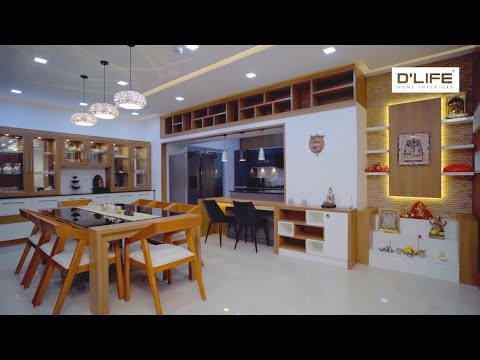 4 BHK Apartment Interiors | Bengaluru - DLIFE Home Interiors