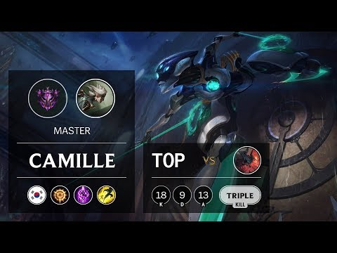 Camille Top vs Aatrox - KR Master Patch 9.15