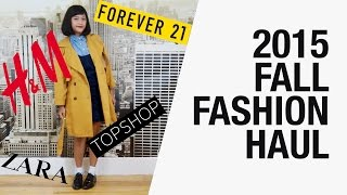 2015 Fall Try On Haul - H&M, Zara, Topshop, Forever 21, ASOS, Urban Outfitters | Chictopia
