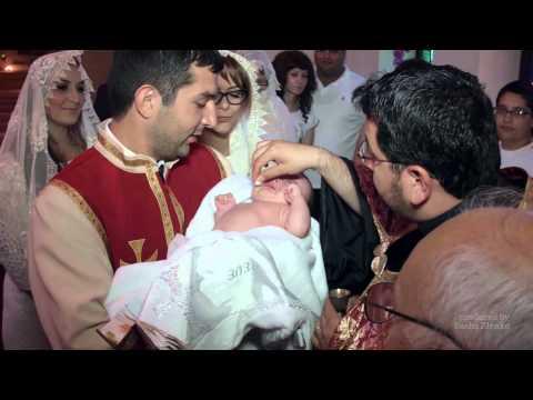 Промо-ролик, Крестины, армянская церковь Святого Саркиса