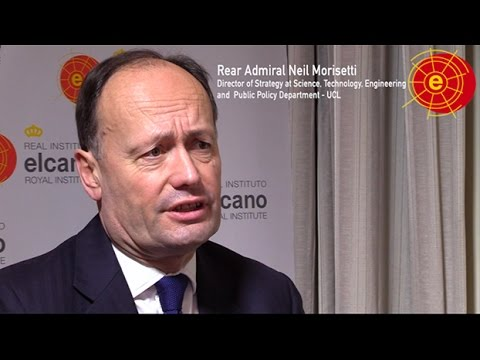 Neil Morisetti.Climate security and disaster risk reduction @rielcano