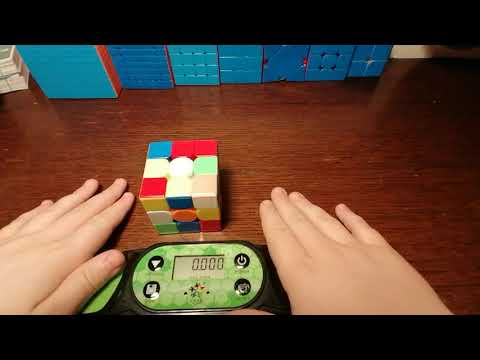 Rubik's cube solved in 21 seconds!