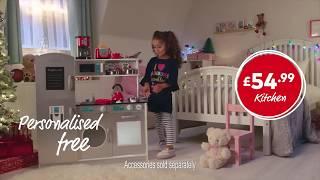 Studio - Wooden Puzzle, Play Kitchen, Pencils, Pyjamas & Christmas Stockings - Christmas 2018